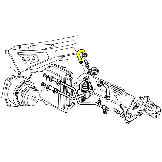 1984 Corvette Water Shutoff Valve To Rear Of Intake Coolant Heater. Thumbnail Of Water Shutoff Valve To Rear Intake Coolant Heater Hose. Corvette. 1973 Corvette Heater Vacuum Diagram At Scoala.co