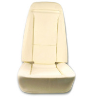 Corvette Foam, seat set cushion (4 piece)