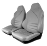 "1994 - 1996 Seat Cover Set with Attached Foam, replacement leatherette mounted to ""Your"" seatback structure [with sport AQ9]"