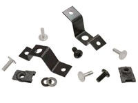 1963 - 1964 Bracket Kit, front grille to inner skirts with hardware