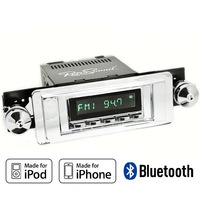 1953 - 1957 RetroSound Long Beach Direct Fit 12 volt AM/FM Radio with auxiliary inputs, USB, Bluetooth®, made for iPod®/iPhone® and SirusXM-