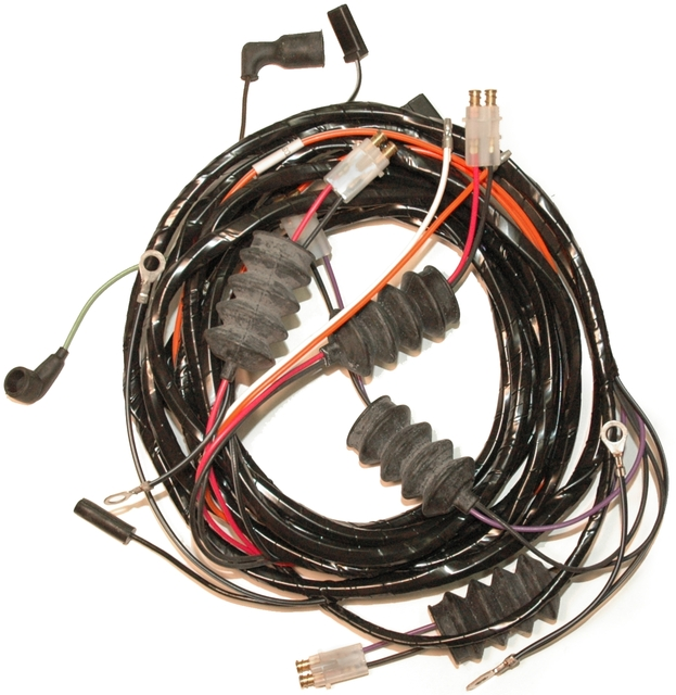 1963 corvette wiring harness rear body lamp without. Black Bedroom Furniture Sets. Home Design Ideas