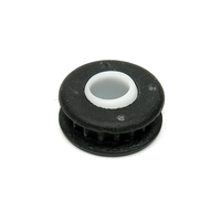 1969 - 1982 Bushing, condenser mount (rubber with plastic sleeve)