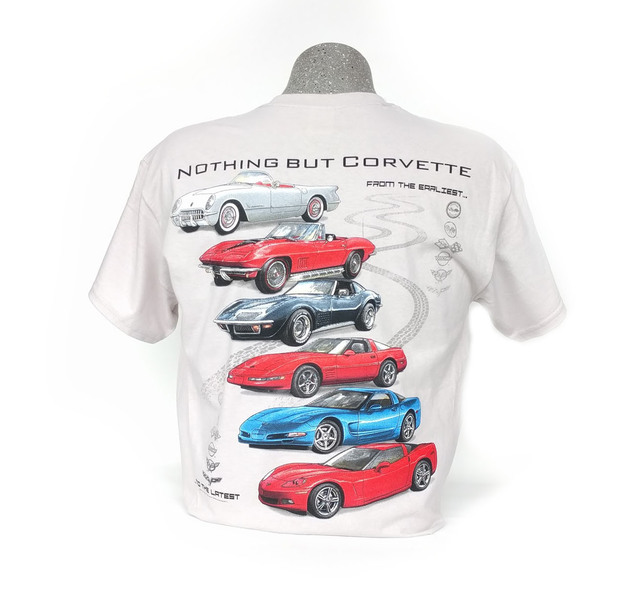 Corvette  U0026quot Nothing But Corvette U0026quot  Shirt  Corvetteparts Com