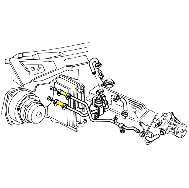 1969 Corvette Heater Core Diagram