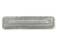 1959L - 1966E Valve Cover, 7 finned aluminum (283/327) replacement