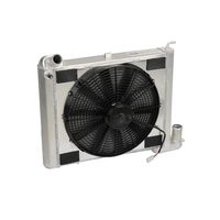 "1963 - 1967 Radiator / Fan Assembly, aluminum ""Direct Fit"" super-cool (327 engine)"