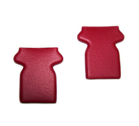 Corvette Cover, pair seat/shoulder belt webbing stop (similar to 1970-72 red)