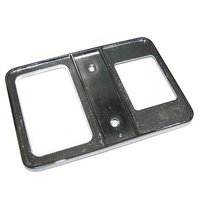 1956 - 1962 Trim Plate, shifter console (3 speed transmission)